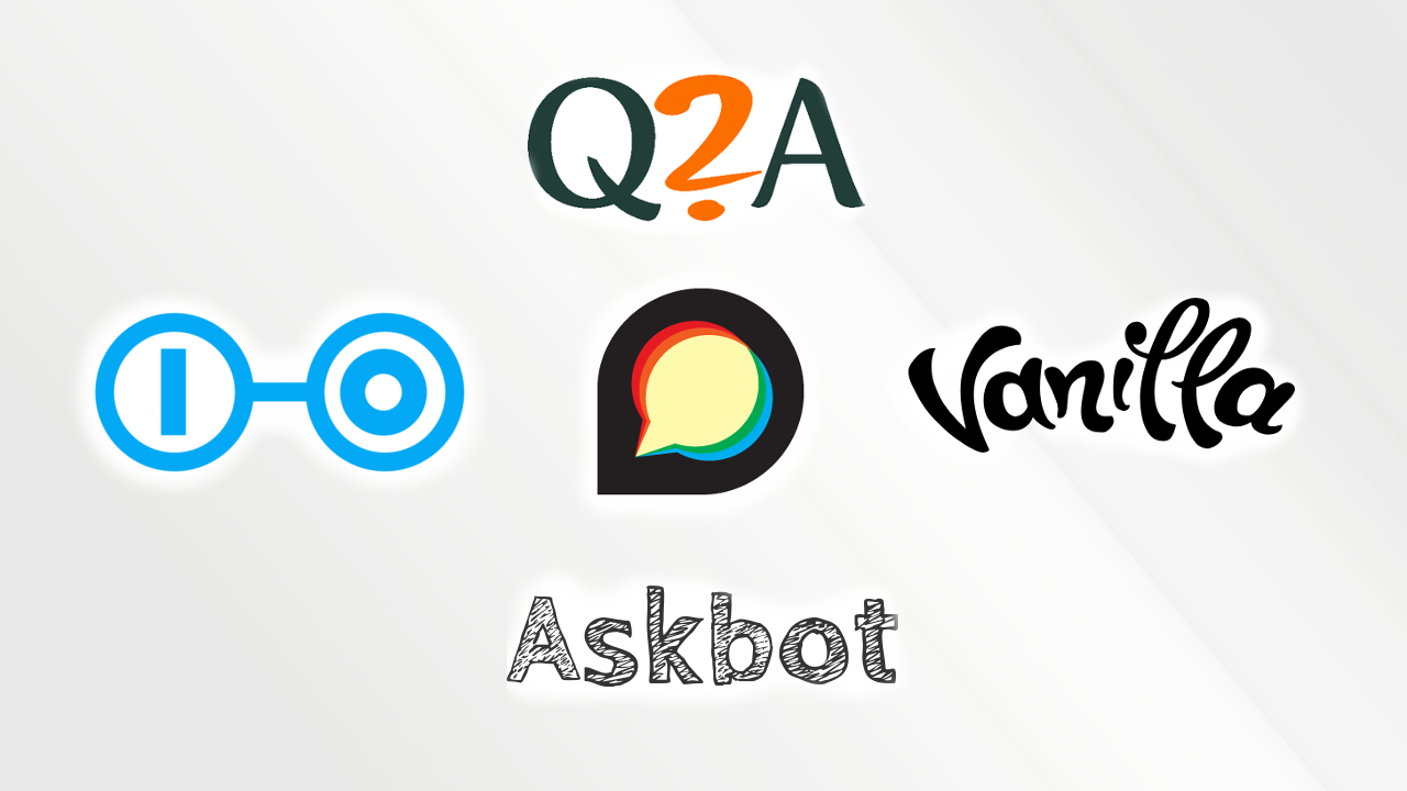 Top 5 open source Q and A platforms